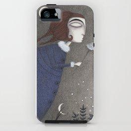 Winter Twilight iPhone Case