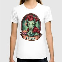 pinup T-shirts featuring TOXIC pinup by Tim Shumate