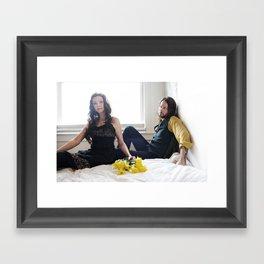 viva I Framed Art Print