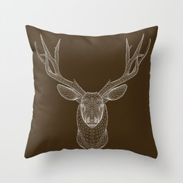 Cervo Throw Pillow