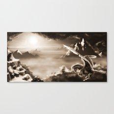 Aloft Canvas Print