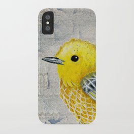 Yellow Warbler Tilly (Vintage Edition) iPhone Case
