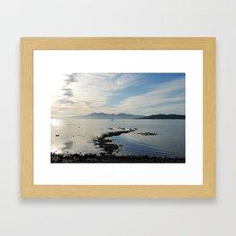 Arran from Millport Framed Art Print
