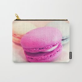 Macarons / Macaroons Fuchsia Peach Carry-All Pouch