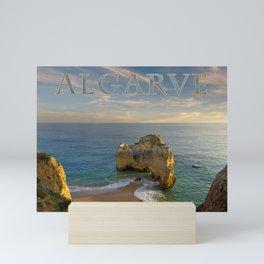 Praia da Rocha, Algarve Mini Art Print