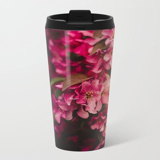 Beauty of Spring I Metal Travel Mug
