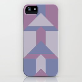 Violet Directions #society6 #violet #pattern iPhone Case