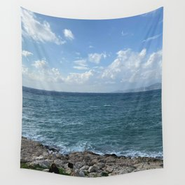 Rocks and sea Wall Tapestry