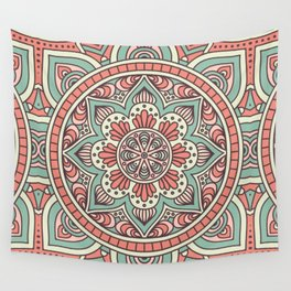 Batik Style 10 Wall Tapestry
