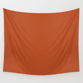 NOW RUST solid color Wall Tapestry
