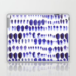 Ultra Violet Paint Splodges Laptop & iPad Skin