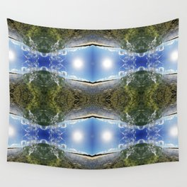 DOUBLE UP Wall Tapestry