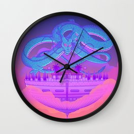 Kami's Lookout Wall Clock