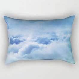 Majestic Clouds Rising Across The Breathtaking Heavens Rectangular Pillow