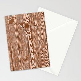 c13D Woodgrain Stationery Cards