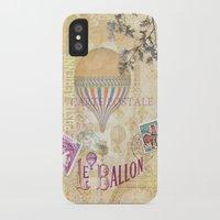 ballon iPhone & iPod Cases featuring Le Ballon by Hans Duenas