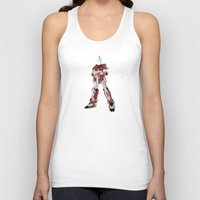 spaceman Tank Tops featuring Spaceman by Robert Cooper