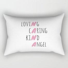 Tribute To Nana Rectangular Pillow