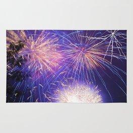 July Fourth Fireworks Rug