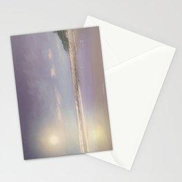 Beach glow Stationery Cards