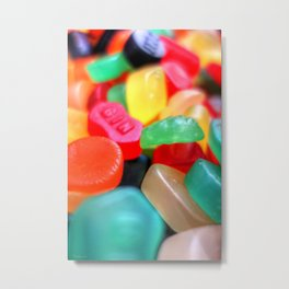 Sweets 02 - Wine Gums | GIN Metal Print