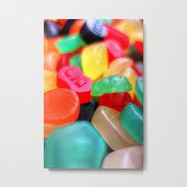 Sweets 02 - Wine Gums | GIN Metal Print
