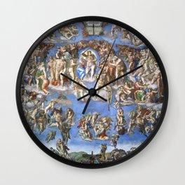 "Michelangelo ""Last Judgment"" Wall Clock"