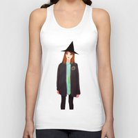 hermione Tank Tops featuring Hermione Granger by Lenas 9th Art