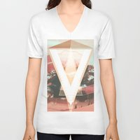 "gta v V-neck T-shirts featuring ""V"" by Grant Pearce"