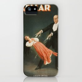 Vintage poster - Kellar the Magician iPhone Case