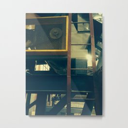 The Face of Industry Metal Print