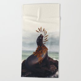 Cold Shore Beach Towel