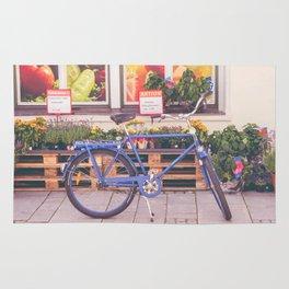 Market Bicycle Rug