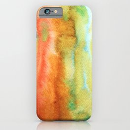Abstract Watercolors 3 iPhone Case
