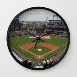 Colorado Field Wall Clock