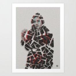 FragmentedMemory/ Art Print