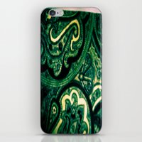 paisley iPhone & iPod Skins featuring Paisley by Kim Ramage