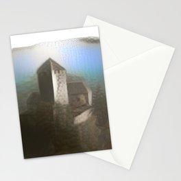 Castle Tirol in Fog Stationery Cards