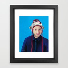 Misha Collins Framed Art Print