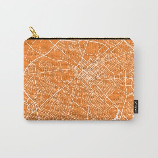 Lexington map orange Carry-All Pouch