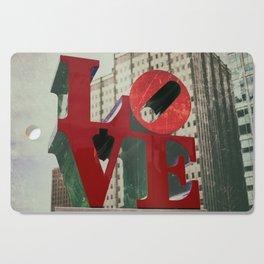 Love Sign Philadelphia Cutting Board
