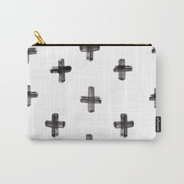 plus sign pattern Carry-All Pouch