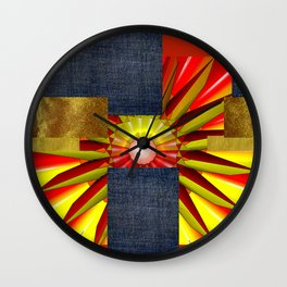 WHAT SHINES WITHIN Wall Clock