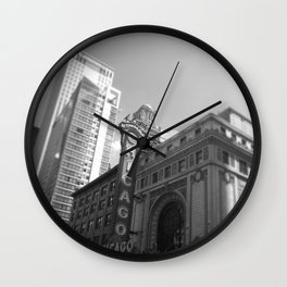 Chicago #1 Wall Clock