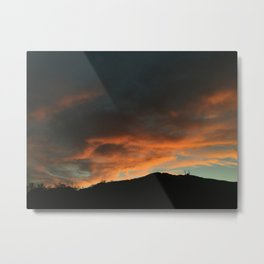Summer Sunsets Metal Print