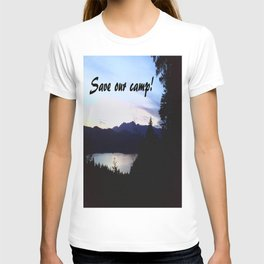 Save Our Camp! -Dusk T-shirt