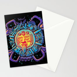 Aztec Sun Stationery Cards