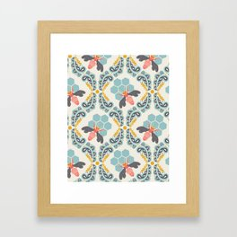 bee sweet Framed Art Print