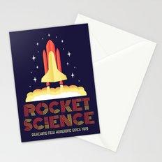 Rocket Science Stationery Cards