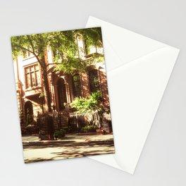 New York City Brownstones Stationery Cards
